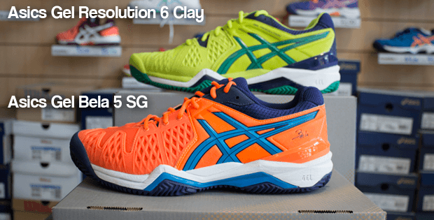 Comparativa zapatillas Asics