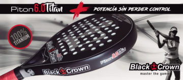 Black Crown Piton 6.0 Titanium