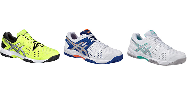 ZAPATILLAS DE PADEL ASICS GEL DEDICATE 4 CLAY 2015