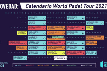 calendario world padel tour 2021