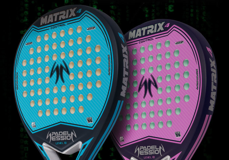 Palas Padel Session Matrix 4 colores