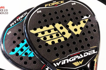 Wingpadel Air Attack 2.0 y Wingpadel Air Force 2.0.