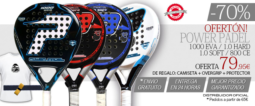 Palas power padel oferta