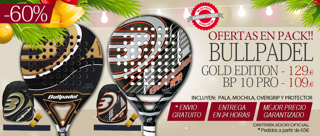 Pack de padel bullpadel