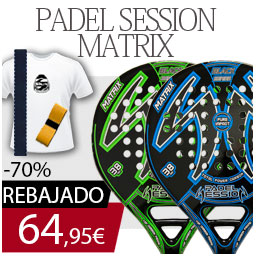 Pala de padel padel session matrix