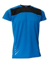 T-SHIRT SOFTEE NET BLUE BLACK