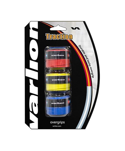 OVERGRIP VARLION TRACTION TRICOLOR 3 UNIDADES