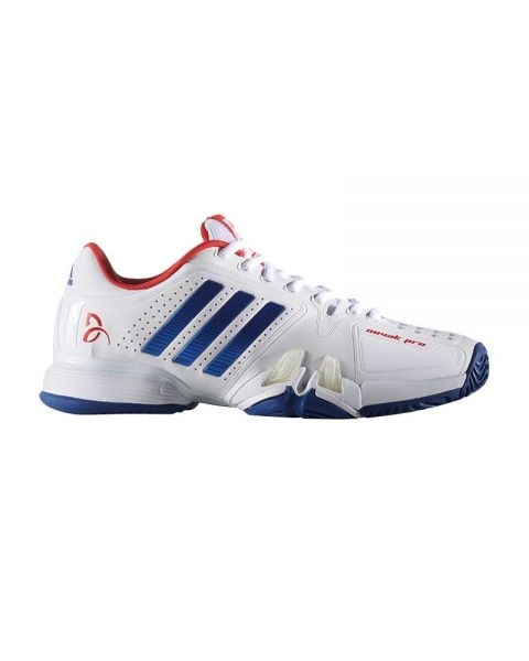 adidas Men's Novak Pro Clay Fitness Shoes, Red