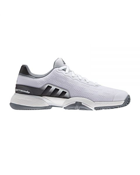 Chaussures Adidas Junior Barricade Blanches