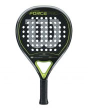 WILSON CARBON FORCE PRO PADEL CARBON BLACK GREEN
