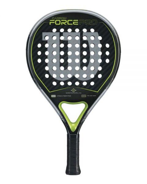 Wilson Carbon Force Pro Padel Carbon Negro Verde