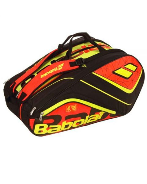 303f637b6 BABOLAT RH TEAM PADEL RED YELLOW PADEL RACKET BAG 751158 204