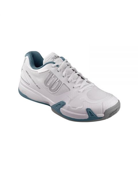 ZAPATILLAS WILSON RUSH PRO 2.0 CLAY COURT BLANCO GRIS WRS320920