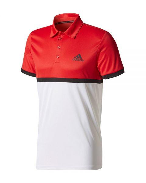 Polo Court Vêtement Et Rouge Adidas Promotion En Blanc r4aqwrn5