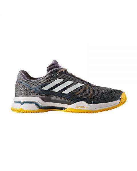Zapatillas Adidas Barricade Club Gris Amarillo