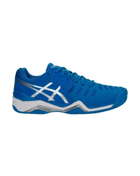 429735acc2a7d ASICS GEL RESOLUTION 7 CLAY AZUL E702Y 4393