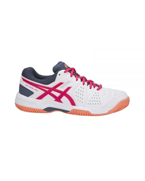 d3bf4d2cf2a ASICS GEL PADEL PRO 3 SG BLANCO ROSA MUJER E561Y 0121