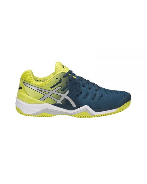 Onza Individualidad Abuso  ASICS GEL RESOLUTION 7 CLAY BLUE YELLOW | Novelties 2018