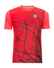JHAYBER FLAMINGO RED TECHNICAL SHIRT