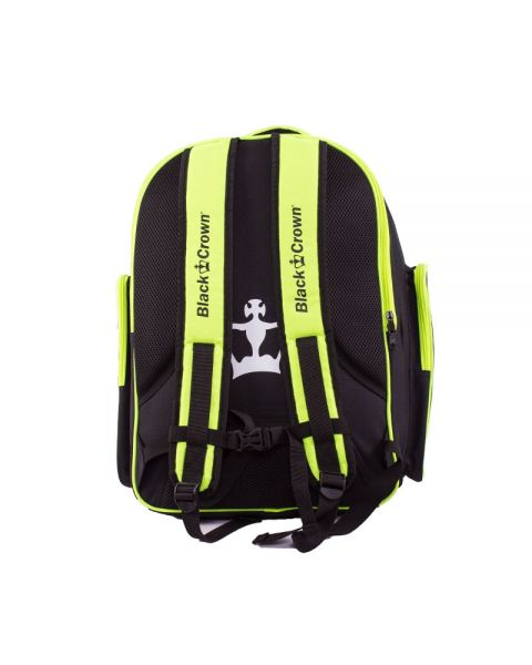 MOCHILA BLACK CROWN NEGRO AMARILLO