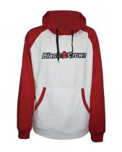 SUDADERA BLACK CROWN FORT BLANCO ROJO