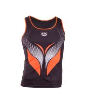 JHAYBER COMET BLACK ORANGE WOMEN SHIRT DS3174 209