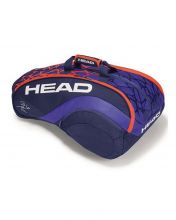 HEAD DELTA BELA MONSTERCOMBI BLUE ORANGE PADEL RACKET BAG