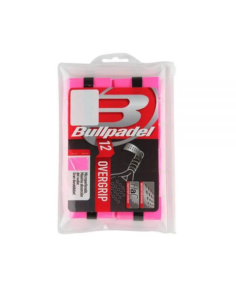 c941b8e7e Bullpadel overgrip pack with 12 units BG-1601 fluor pink | At the ...