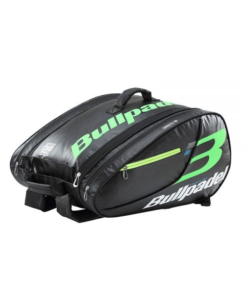 c5952763 PADEL RACKET BAG BULLPADEL BPP-18005 BLACK GREEN   Padel bags at the ...