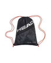 BOLSA DE ZAPATILLAS HEAD TOUR TEAM NEGRO NARANJA