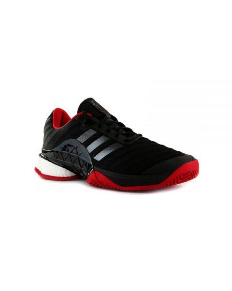 ADIDAS BARRICADE BOOST BLACK RED | Best
