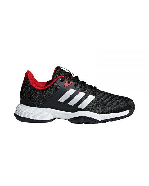 Adidas Barricade XJ Junior Black Silver