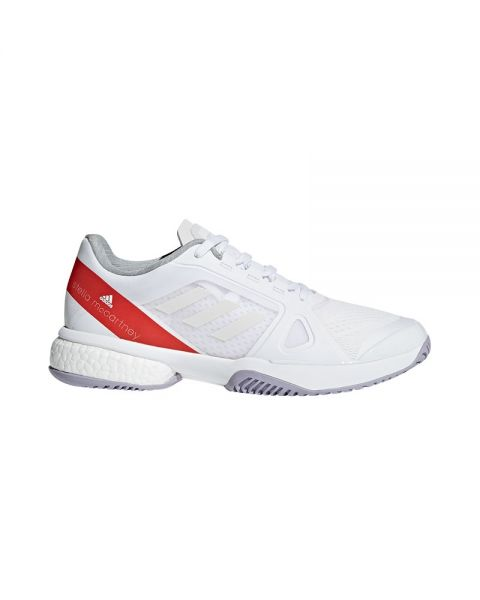 the latest 443f3 dd680 ADIDAS BARRICADE BOOST MUJER BLANCO CP9328