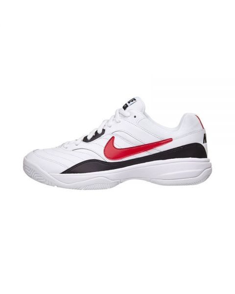 buy online 89de1 bd217 NIKE COURT LITE WHITE RED N845021 160