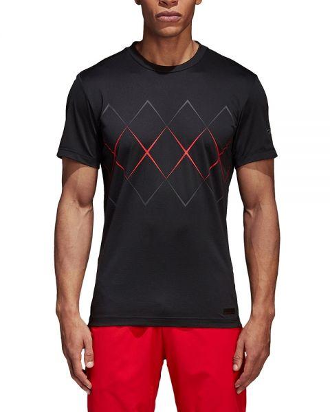 ca958a4d1128a Adidas Barricade black red shirt CE1390 - New 2018 shirts