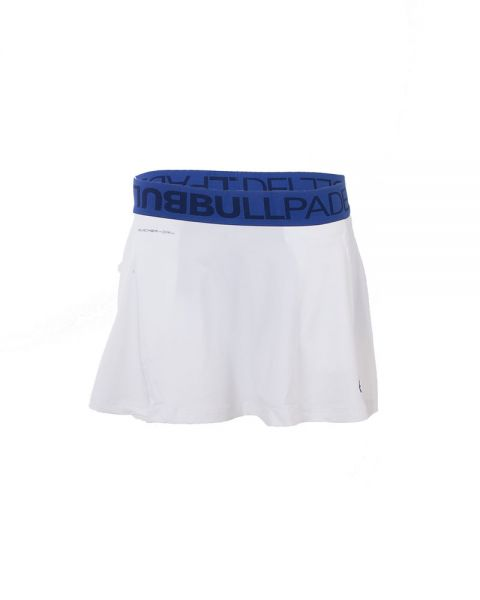 BullPadel Calendula - Falda para mujer, color blanco, talla XL