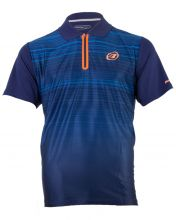 BULLPADEL TRIPEI NIGHT BLUE POLO SHIRT