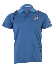 BULLPADEL TALAMONE VIGORE NAVY BLUE POLO SHIRT