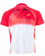 BULLPADEL TIRRENIA RED POLO SHIRT
