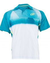 BULLPADEL TIRRENIA BLUISH GREEN POLO SHIRT