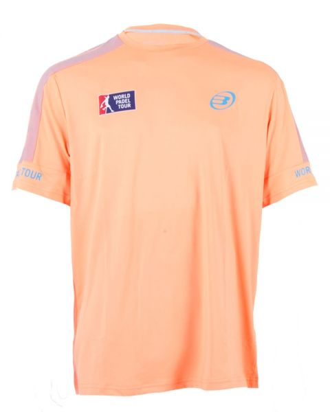 camiseta-bullpadel-chia-naranja-fluor