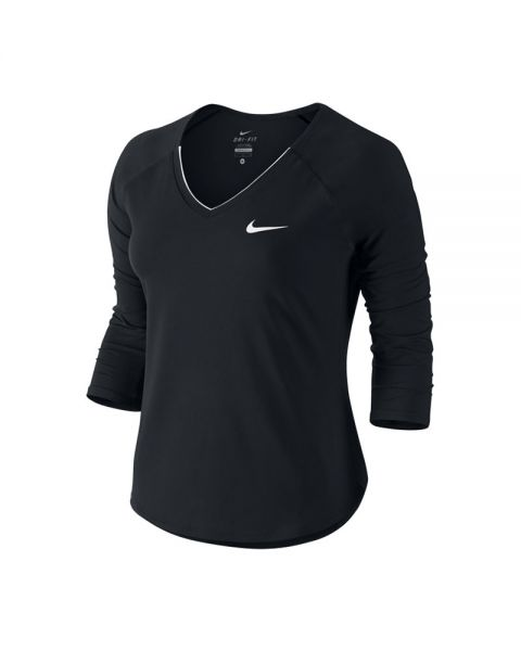 super popular 03e18 fb004 SWEAT NIKE COURT PURE FEMME NOIR BLANC