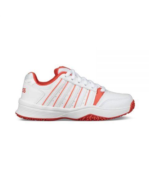 k-swiss-court-smash-blanco-rojo-nino-55629-182, 40.00 EUR @ padelnuestro-es