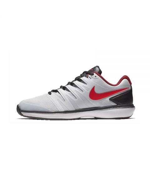 dc0b1dc832c Zapatilla Nike Air Zoom Prestige Hc Plata Negro -Transpirable y cómoda