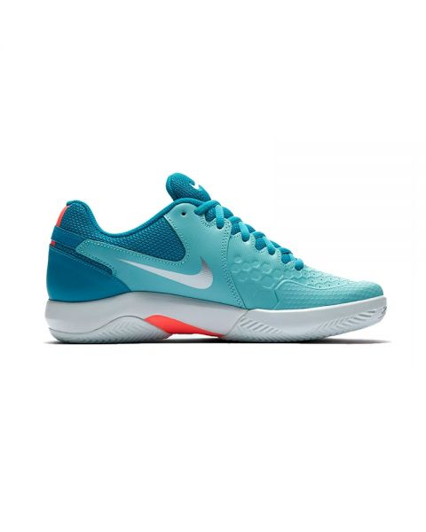 temor Acechar Delgado  Nike Air Zoom Resistance Clay Aquamarine Women - With excellent traction