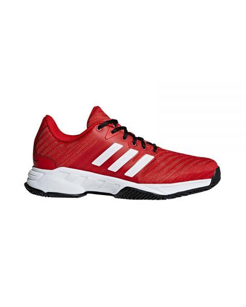 zapatillas Adidas Barricade Court 3 Blancas 2018