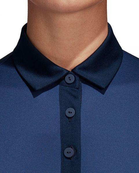 Polo ADIDAS 3 Franjas Club Azul Marino Mujer - Corte clásico y cómodo e07d8d045e489
