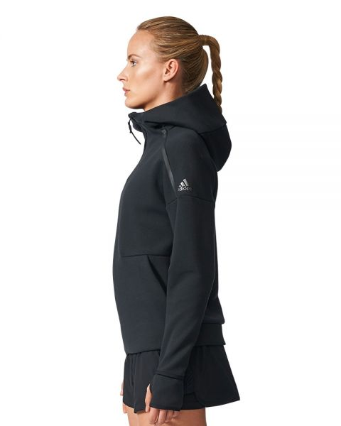 Personal congelador mareado  Adidas Z.N.E. Hoodie 2.0 black women jacket - Protection and style