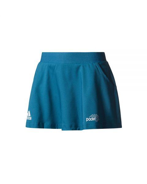 Adidas Mujer Padel Club Azul Falda 534jALR