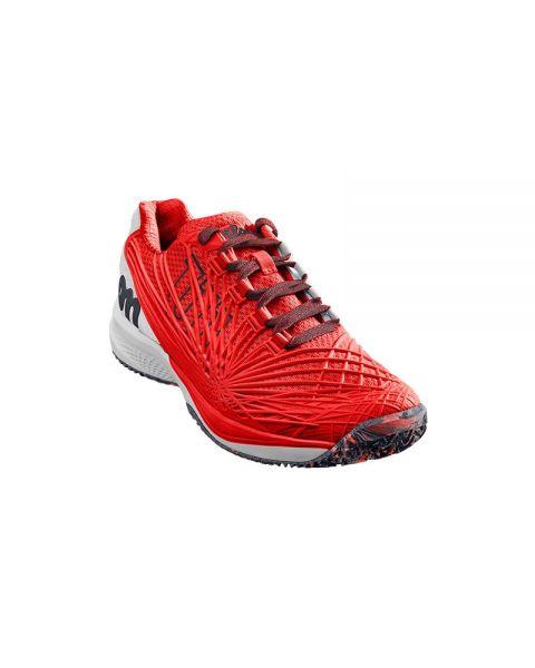 4810bcad Zapatilla Wilson Kaos 2.0 Fiery Rojo WRS324640 -Transpirable